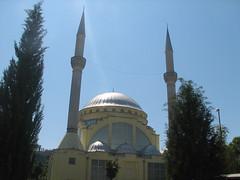 Mosque in Shkodr (Blaz Purnat) Tags: mosque albania cami mosque moschee albanien albanija shkodra xhamia skadar shqipria arnavutluk shkodr moeja