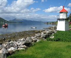 Beacon (YIP2) Tags: lighthouse norway beacon vuurtoren fyr vanylven syltefjorden