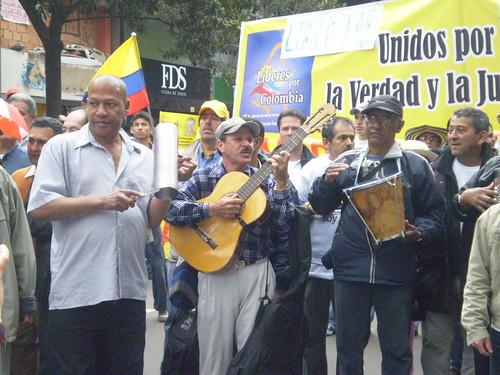 Marcha 20 de julio - Conjunto vallenato del Polo Democrático