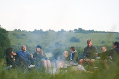 Smoked Friends (Clive Andrews) Tags: birthday camping friends andy sussex james stu nicola jim stuart mel melody isabel saul nic southdowns jimbob melo plumpton isy secil img3983 hackmansfarm