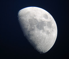 Moon - Day 9 (Mike Dole) Tags: moon telescope astrophotography xt45