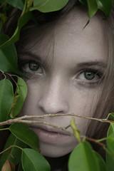 (Marielle B-R) Tags: green leaves lady women br houston marielle abigfave reiersgard