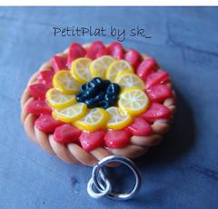 Pendentif Tarte Fruits