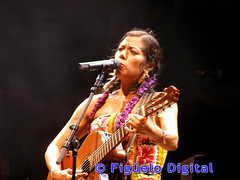 Lila Downs en la Expo Zaragoza 08