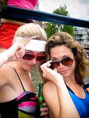 IMG_1162 (HucciGucci) Tags: trip amsterdam boat 80s workout gym 2008 canalpride aerobic 80ies