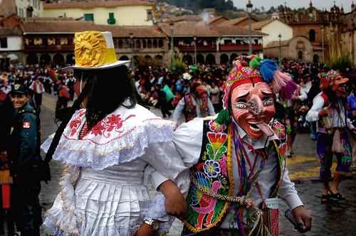 Inti Raymi Festival, Cusco, Peru