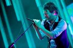 Radiohead / Thom Yorke (Joel Faurote) Tags: indianapolis thomyorke radiohead 2008 jonnygreenwood noblesville colingreenwood philselway edobrien inrainbows