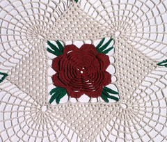 Rose Doily Detail