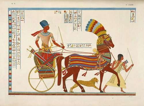 03- Retorno triunfal en carro precido por esclavos afircanos