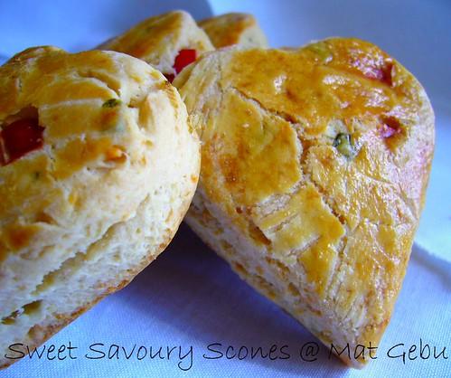 Sweet Savoury Scones