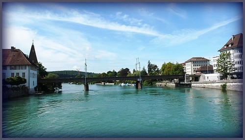 River Aare, West, Solothurn