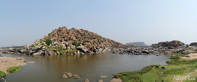 Tungabhadra and the Boulder Hills of Hampi