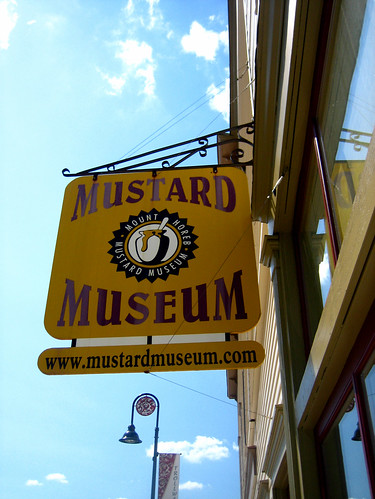Mustard Museum Sign