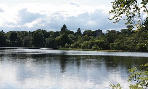 Mugdock Loch and Castle