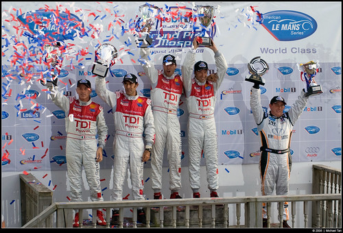 Grand Prix of Mosport - Sunday: ALMS P1 Podium (by Tanner.)