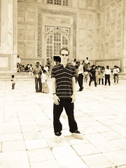 I was at Taj Mahal ;)