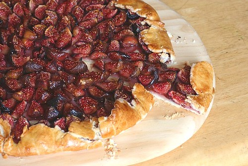 Fig Season Part I: Fig Galette | A Beautiful Mosaic