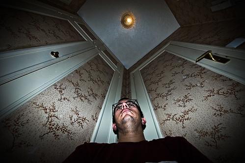 In a dark corner (365-106)