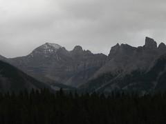 mountains overlooking Banff