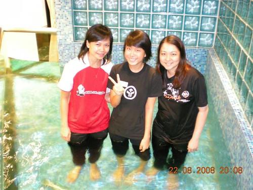 Nicolette's baptism
