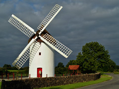 Elphin Windmill (Phil Burns) Tags: camera ireland windmill club olympus boyle roscommon e500 elphin boylecameraclub