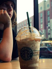 Broad Street. (sspincycle) Tags: matthew caramel starbucks avenue gazing