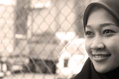 Rory Sepia (SHAZRAL) Tags: bw sepia canon eos hijab rory malaysia ina melayu malay 450d rebelxsi shazral