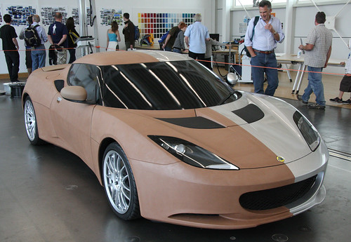 Lotus Evora - clay concept