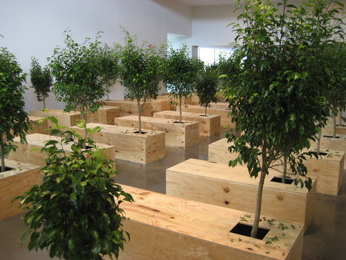 """""""Ex It"""" by Yoko Ono at American University Museum 9/13/08 - 26 by you."""