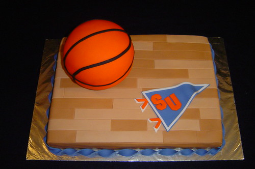 SU Basketball Grooms Cake