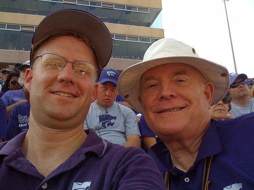 The photo we submitted via email to wildcatfans@ksu.edu