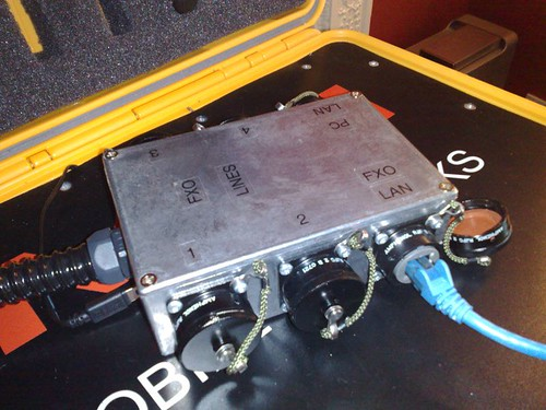 The PMN break-out box was originally designed for use in submarines.
