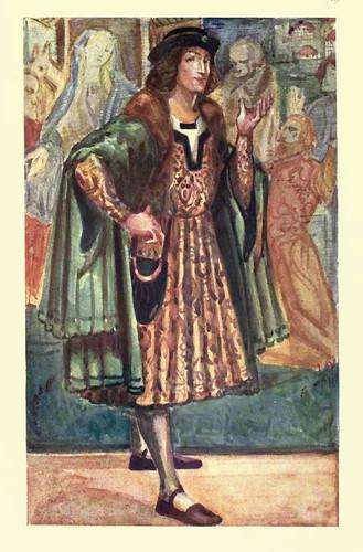 10- Vestimenta hombre epoca Ricardo III (1483-1485)