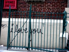 I Love You (justiNYC) Tags: nyc eastvillage graffiti manhattan iloveyou