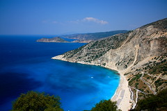 "Definition of ""crystal blue"" (Fotis Korkokios) Tags: summer greece kefalonia myrtosbeach bluesea argostoli crystalblue mirtos fostis"