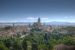 View from Alczar (wili_hybrid) Tags: city trip travel summer vacation urban holiday castle landscape geotagged outside outdoors photo yahoo high spain nikon europe flickr european exterior dynamic photos outdoor picture august pic roadtrip journey segovia alcazar vista wikipedia imaging d200 mapping 2008 range geotag tone hdr hdri photomatix nikond200 tonemapped tonemapping highdynamicrangeimaging mywinners goldstaraward year2008