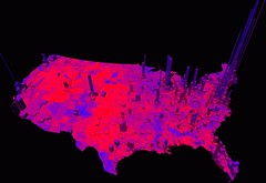 Purple America: Voter Density (1960-2004)