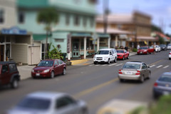 tiny town (anna.hawaii) Tags: photoshop hawaii miniature fake shift tilt kohala hawi wronglens cwd901