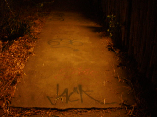 Graffiti on my Sidewalk
