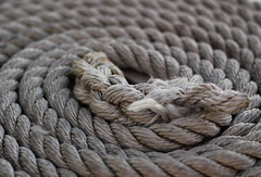 ... (Kris Kumar) Tags: birthday usa ny boat canal october myfav rope knot erie coil concentric circular pittsford canon50mm canon50d sampatchboattour sambatch