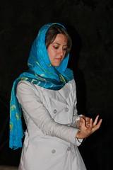 Pantomime (hapal) Tags: blue portrait woman face night scarf canon pose eos iran creativecommons iranian tehran ایران pantomime شب چهره تهران زن پرتره 40d روسری hapal hamidnajafi حمیدنجفی upcoming:event=1065530 iraninflickiesgathering پانتومیم