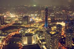 [フリー画像] [人工風景] [建造物/建築物] [街の風景] [夜景] [ビルディング] [日本風景] [横浜]    [フリー素材]
