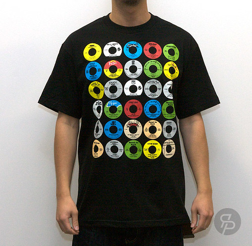 Stones Throw Yo! 45 Tee - Black