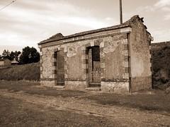 Oradour-sur-Glane, France (maisonburke) Tags: france sepia buildings war massacre destruction worldwar2 oradoursurglane