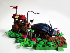 DwarfBug04 (Buster) Tags: castle bug lego action dwarf beetle adventure dio cart dwarves foitsop