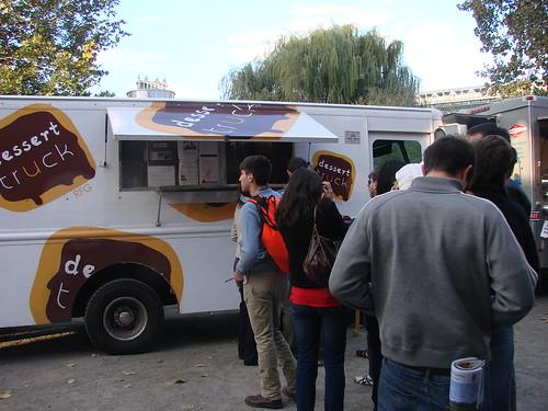 Dessert Truck Line