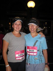 Me and Maggie at the start