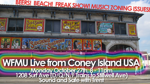 WFMUatConey