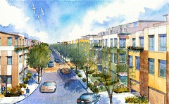 residential street in SPG (by: EBL&S, SMWM)