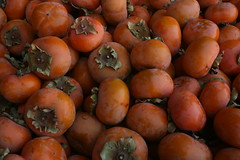 FUYU PERSIMMONS (Non-Astringent) - Diospyros 'Fuyu' (Green Acres Nursery and Supply - Roseville and Sac) Tags: fruit camino produce sacramento persimmon applehill diospyros fuyupersimmon greenacresnurseryandsupply applepersimmon